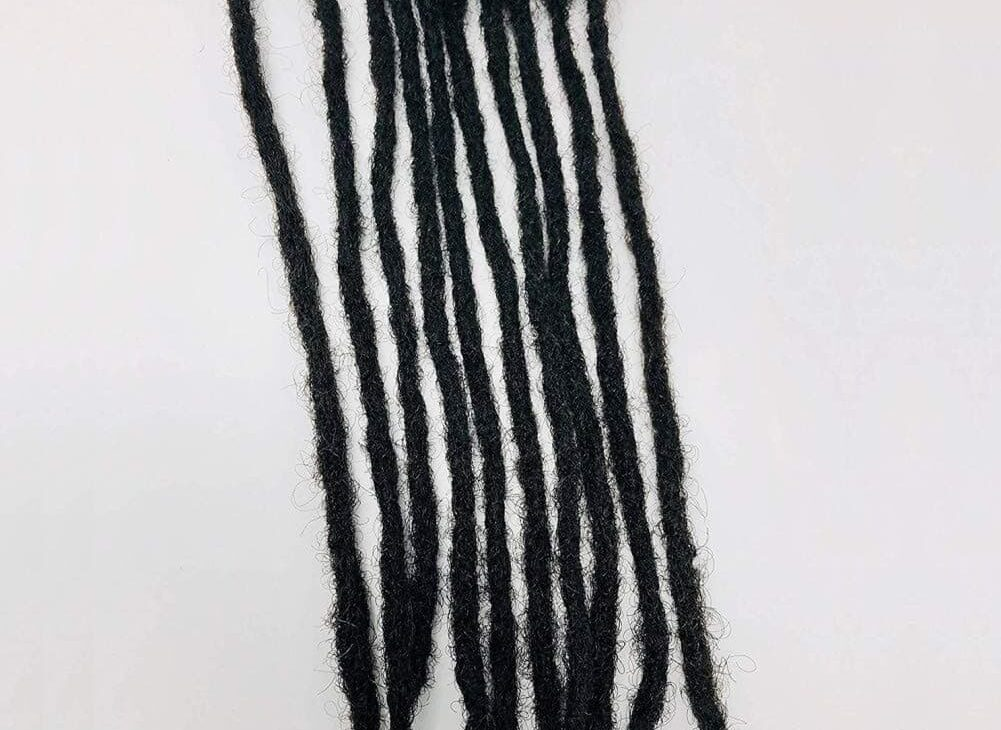 100% human hair dreadlocks